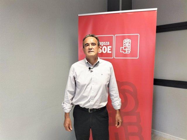 El secretario general del PSOE Zaragoza, Juan Antonio Sánchez Quero, ha anunciado su candidatura a la reelección al frente de los socialistas en la provincia.