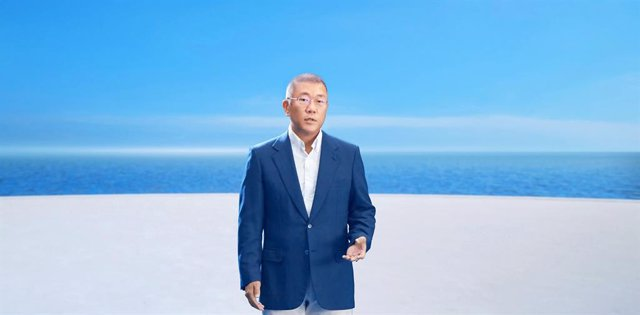 Archivo - El presidente de Hyundai Motor Group, Euisun Chung