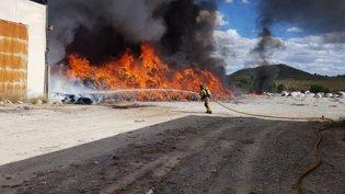 Incendio en Cehegín