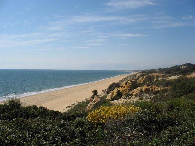 Archivo - Imagen de una playa de Huelva.