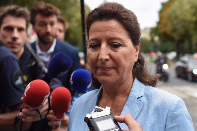 La exministra de Sanidad francesa Agnes Buzyn.