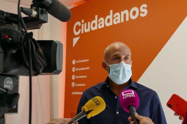 El coordinador provincial de Ciudadanos en Toledo, David Muñoz Zapata.