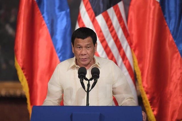 Archivo - Rodrigo Duterte