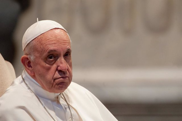 Archivo - El Papa Francisco hablando durante la reunión, el 9 de mayo de 2019, con la diócesis de Roma en la Basílica de San Juan de Letrán en Roma
