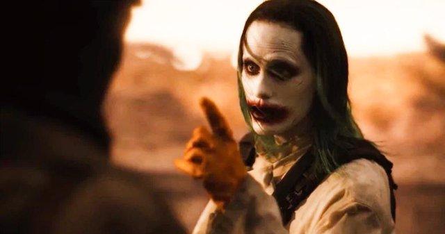 Jared Leto como Joker en la Liga de La Justicia de Zack Snyder