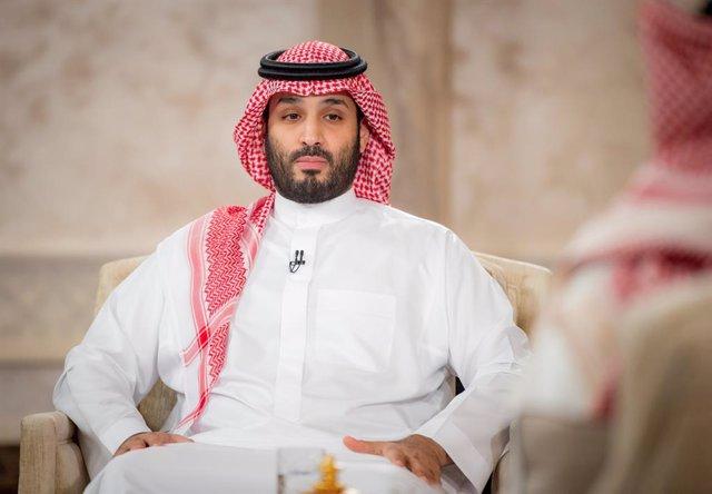 Archivo - Arxivo - El príncep hereu de l'Aràbia Saudita, Mohamed bin Salmán