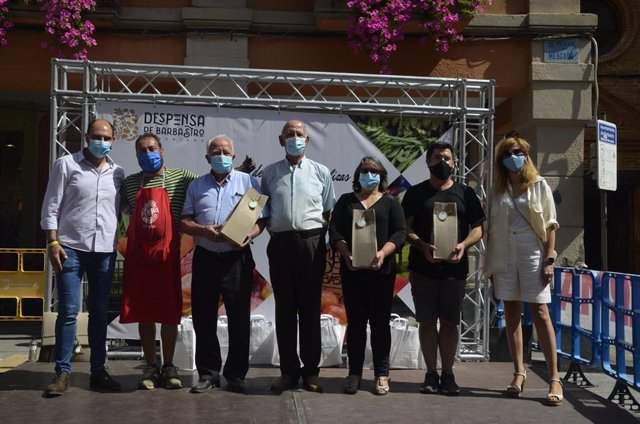 Barbastro premia los mejores productos de su huerta en la XXI Muestra de Frutas y Hortalizas.