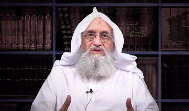 Archivo - Ayman al Zawahiri, líder de Al Qaeda
