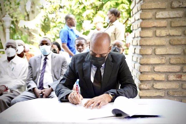 El primer ministro de Haití, Ariel Henry