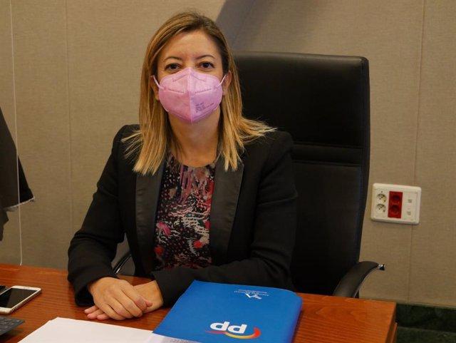 La diputada regional del PP, María Dolores Valcárcel