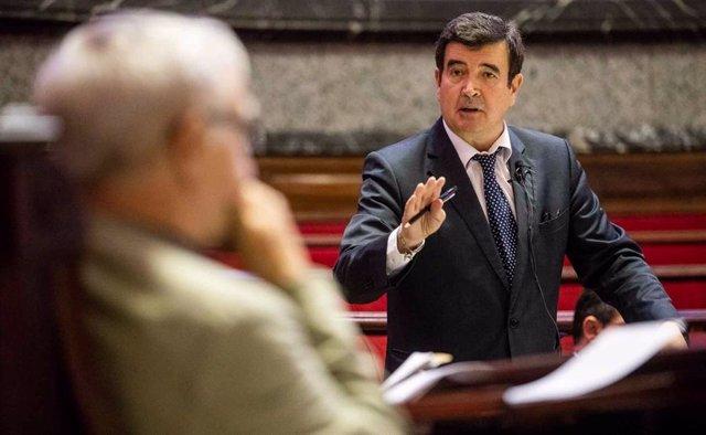 El portavoz de Cs en el Ayuntamiento, Fernando Giner