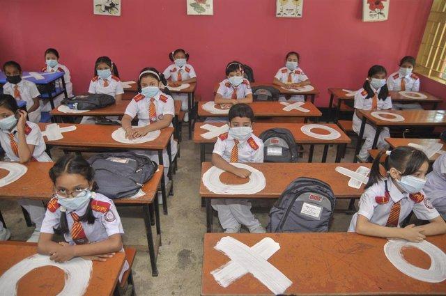 Reanudación de las clases en Bangladesh