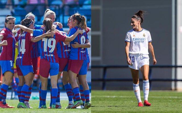 Barça y Real Madrid femeninos