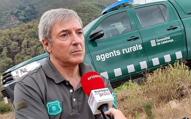 El cap d'Agents Rurals en el Vallès Oriental (Barcelona), Enric Mayà.