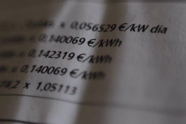 Archivo - Arxivo - Recursos de factures de gas i llum (Iberdrola i Gas Natural)
