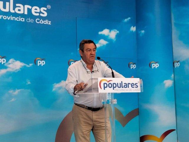 José Loaiza, portavoz del PP en Diputación.