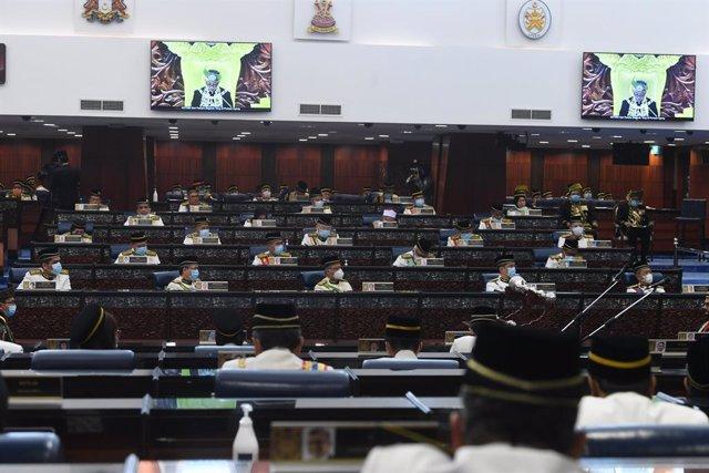 Archivo - Imagen de archivo del Parlamento de Malasia.