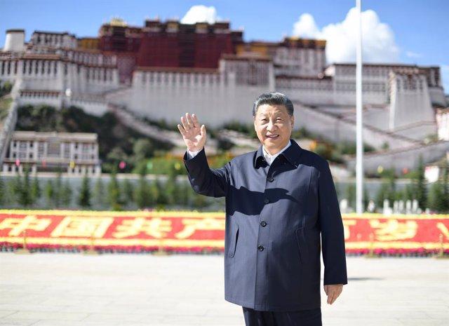 Archivo - Xi Jinping, presidente de China