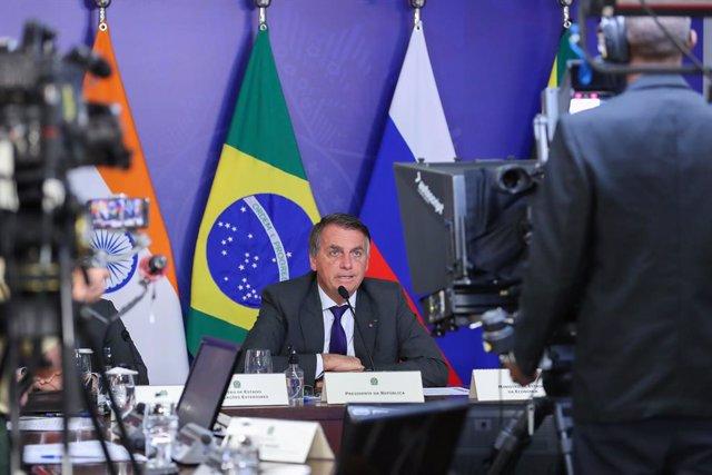 El presidente brasieño, Jair Bolsonaro.