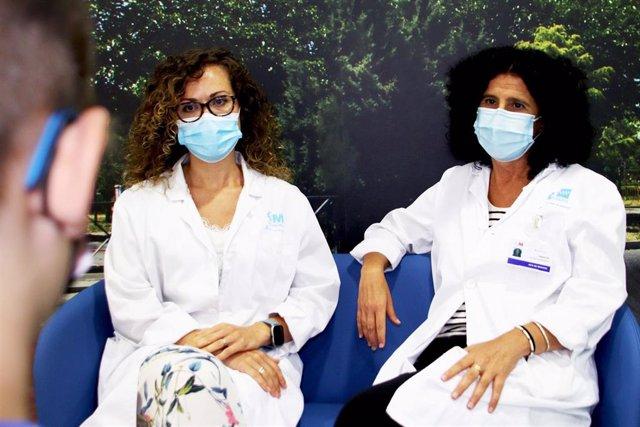 Profesionales del Servicio de Salud Mental del Hospital Universitario