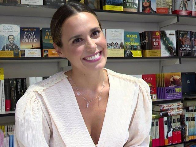 Claudia Osborne, en su debut en la Feria del Libro de Madride