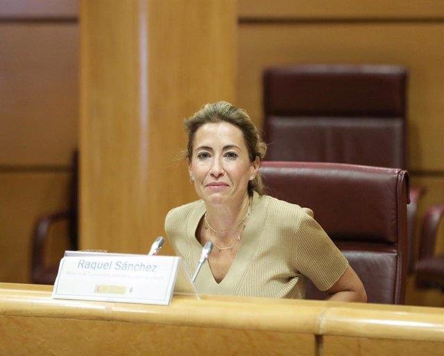Arxiu - La ministra de Transports, Mobilitat i Agenda Urbana