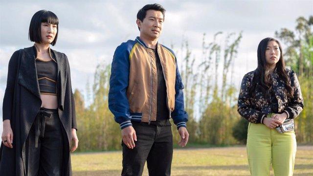 Protagonistas de Shang-Chi y la Leyenda de los Diez Anillos