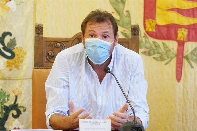 El alcalde de Valladolid, Óscar Puente. Archivo.