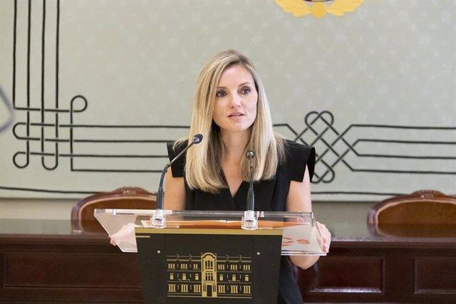 La portavoz del grupo parlamentario de Cs en Baleares y diputada, Patricia Guasp