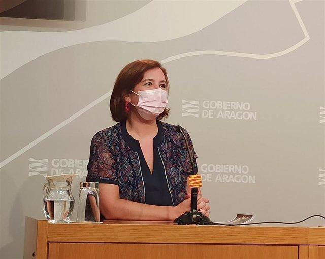 La vicealcaldesa y consejera de Cultura y Protección Exterior del Ayuntamiento de Zaragoza, Sara Fernández.