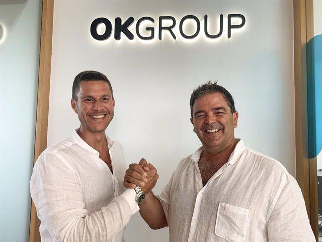 El Presidente de OK Group, Othman Ktiri y el Presidente de Smy Hotels