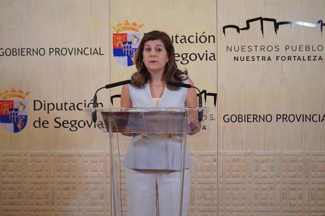 La diputada de Asuntos Sociales, Azucena Suárez.