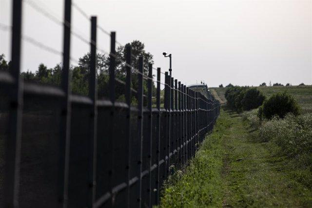 Archivo - Frontera entre Lituania y Bielorrusia