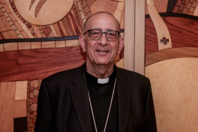 Archivo - Arxiu - El cardenal arquebisbe de Barcelona, Joan Josep Omella