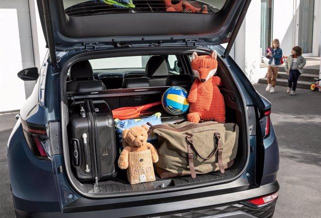 El nuevo Hyundai Tucson ofrece uno de los mayores maleteros de su categoría