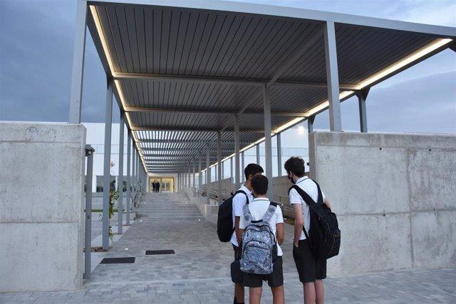 Alumnos del Colegio CEU San Pablo