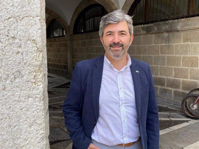 El coordinador nacional de Andalucía Por Sí (AxSí), Modesto González, en una foto de archivo.