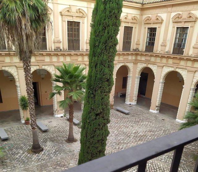 Archivo - Interior del Conservatorio Superior de Música de Sevilla.