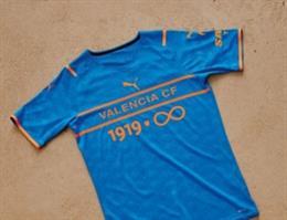 El Valencia y 'Socios.Com' cederán su espacio en la camiseta de Copa del Rey a los aficionados