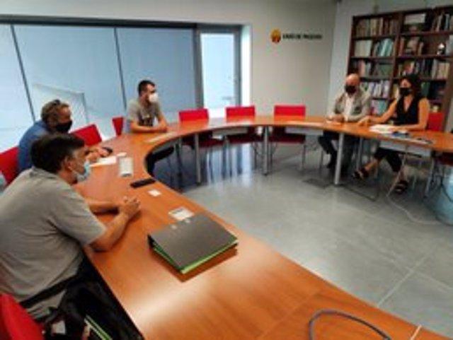 Reunió d'Unió de Pagesos amb Carrefour
