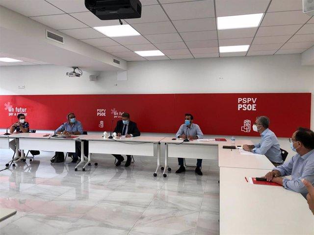 Ximo Puig preside este lunes la reunión de la Comisión Ejecutiva Nacional (CEN)