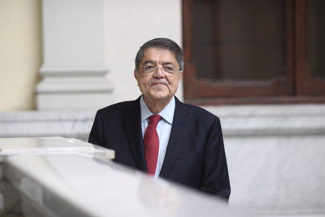 Archivo - Encuentro con Sergio Ramírez, Premio Cervantes 2017