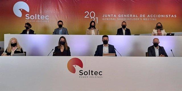 Archivo - Junta general de accionistas de Soltec