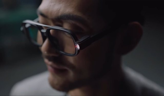 Gafas inteligentes con cámara integrada
