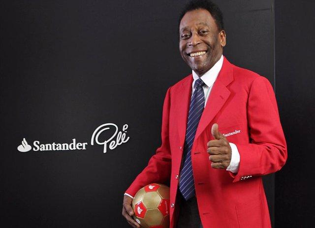 Archivo - Pelé, exfutbolista brasileó.