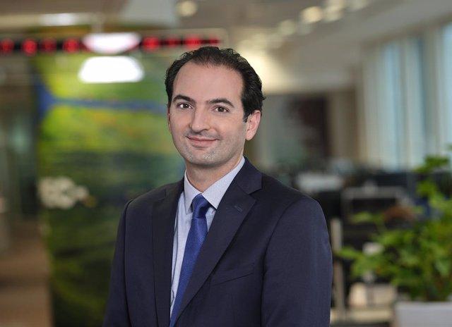 Archivo - El director de ETF de Renta Fija de Lyxor Asset Management, Philippe Baché.
