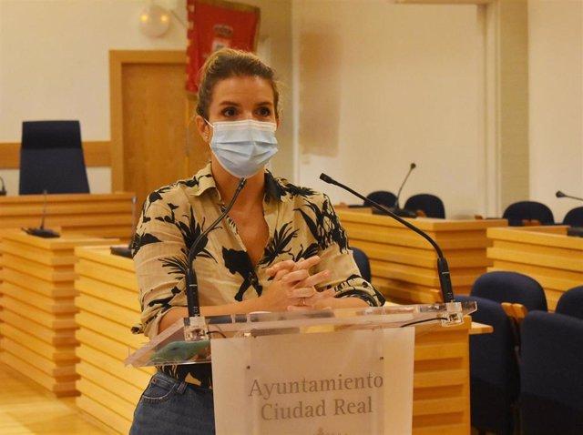 La concejala de movilidad de Ciudad Real, Raquel Torralbo.