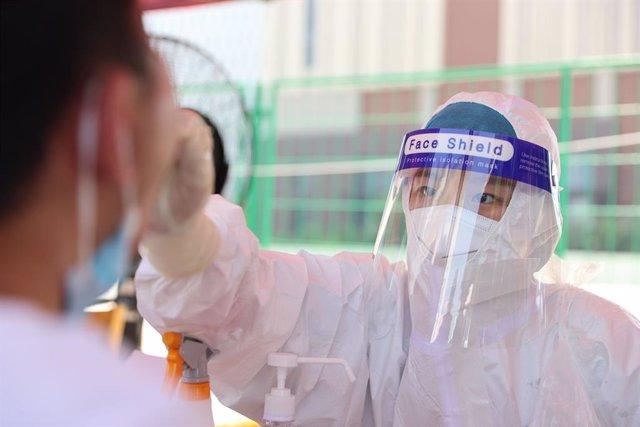Pruebas de coronavirus en Xiamen