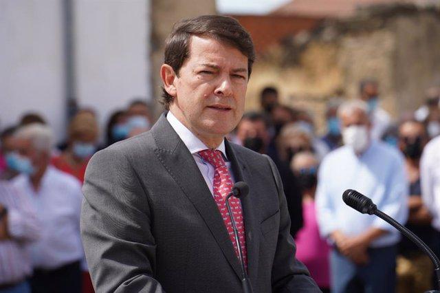 Arxiu - El president de la Junta de la Castella i Lleó, Alfonso Fernández Mañueco