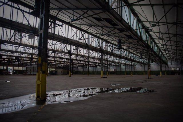 Archivo - Arxiu - Instal·lacions de l'antiga fàbrica de Mercedes-Benz a Sant Andreu